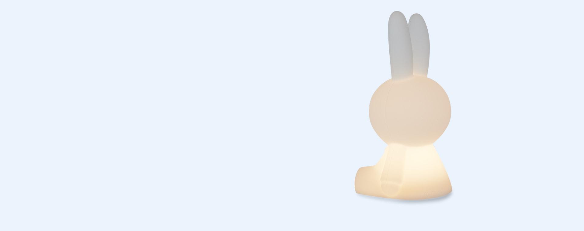 White Mr Maria Mini Miffy LED Light