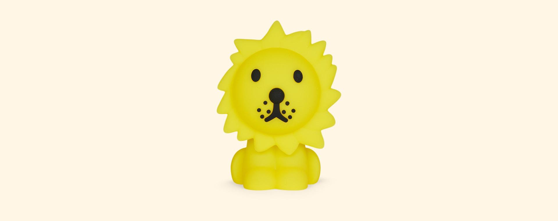 Yellow Mr Maria Mini Lion LED Light