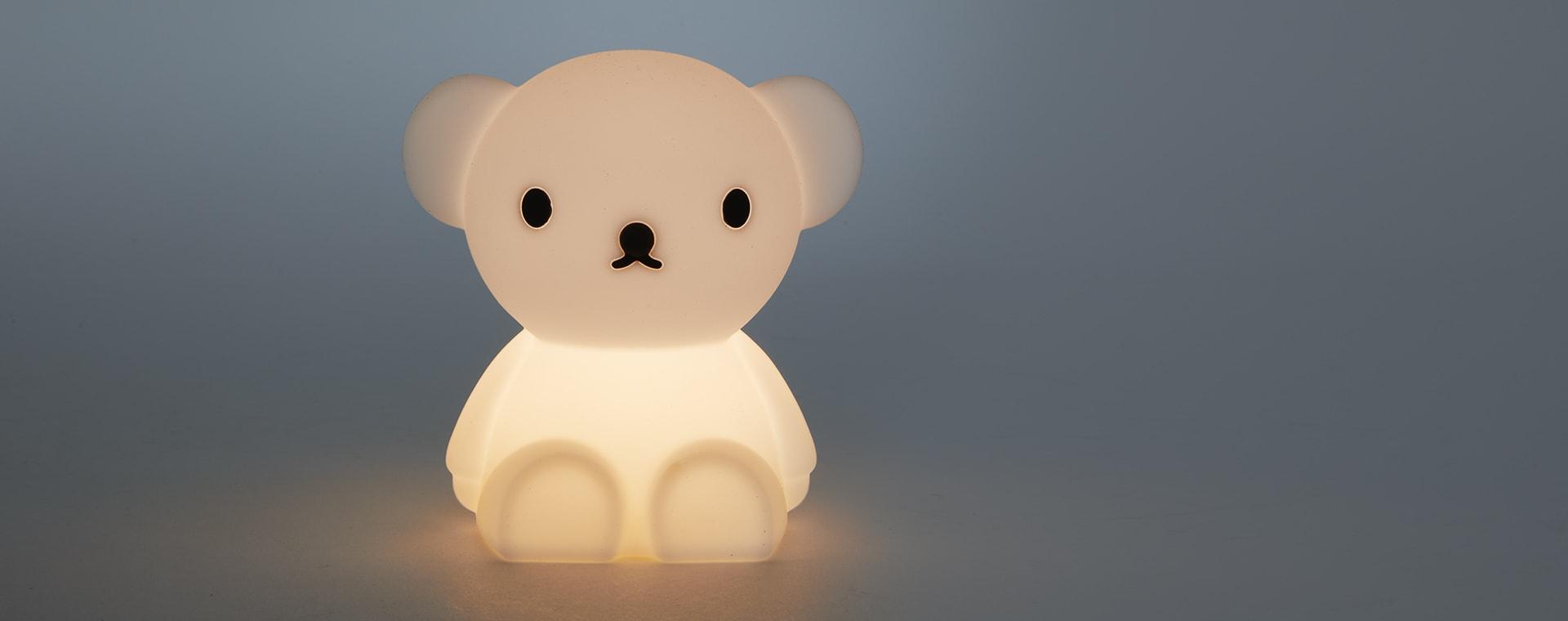 White Mr Maria Mini Boris LED Light