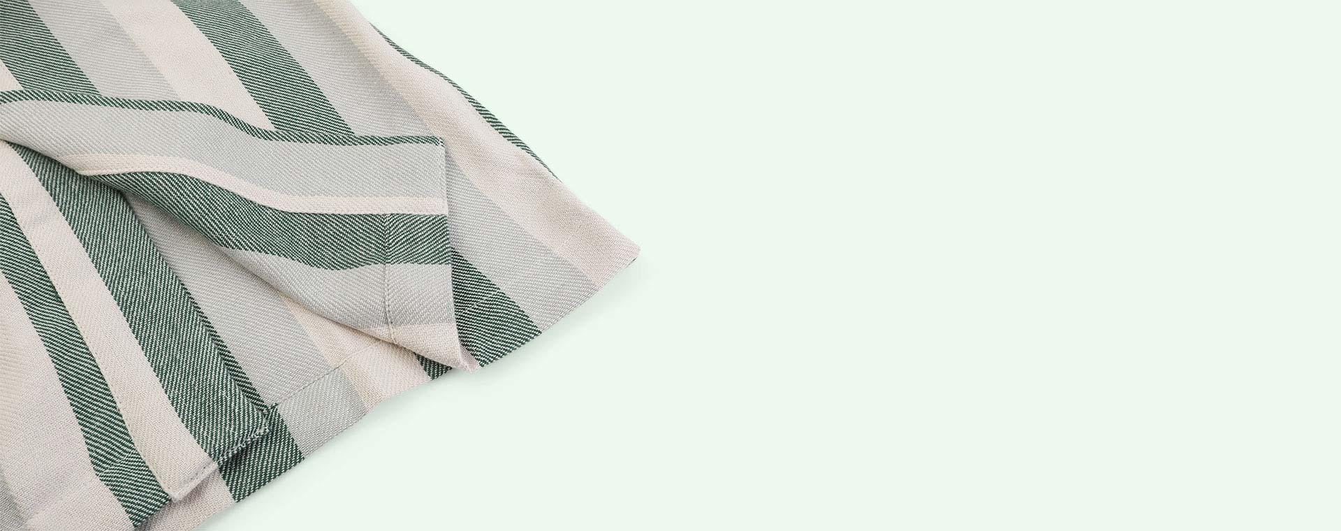 Garden green/sandy/dove blue Liewood Dana bathrobe