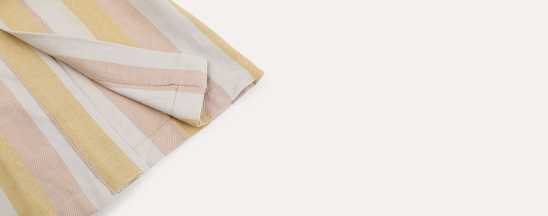 Peach/sandy/yellow mellow Liewood Dana bathrobe