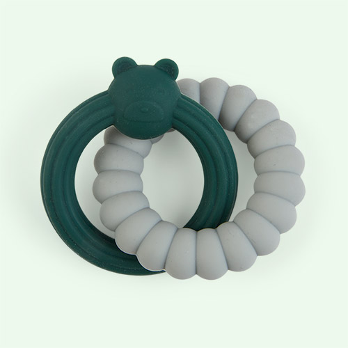 Mr Bear Green Mix Liewood Herbert Teether