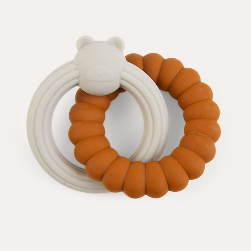 Mr Bear Mustard Sandy Mix Liewood Herbert Teether