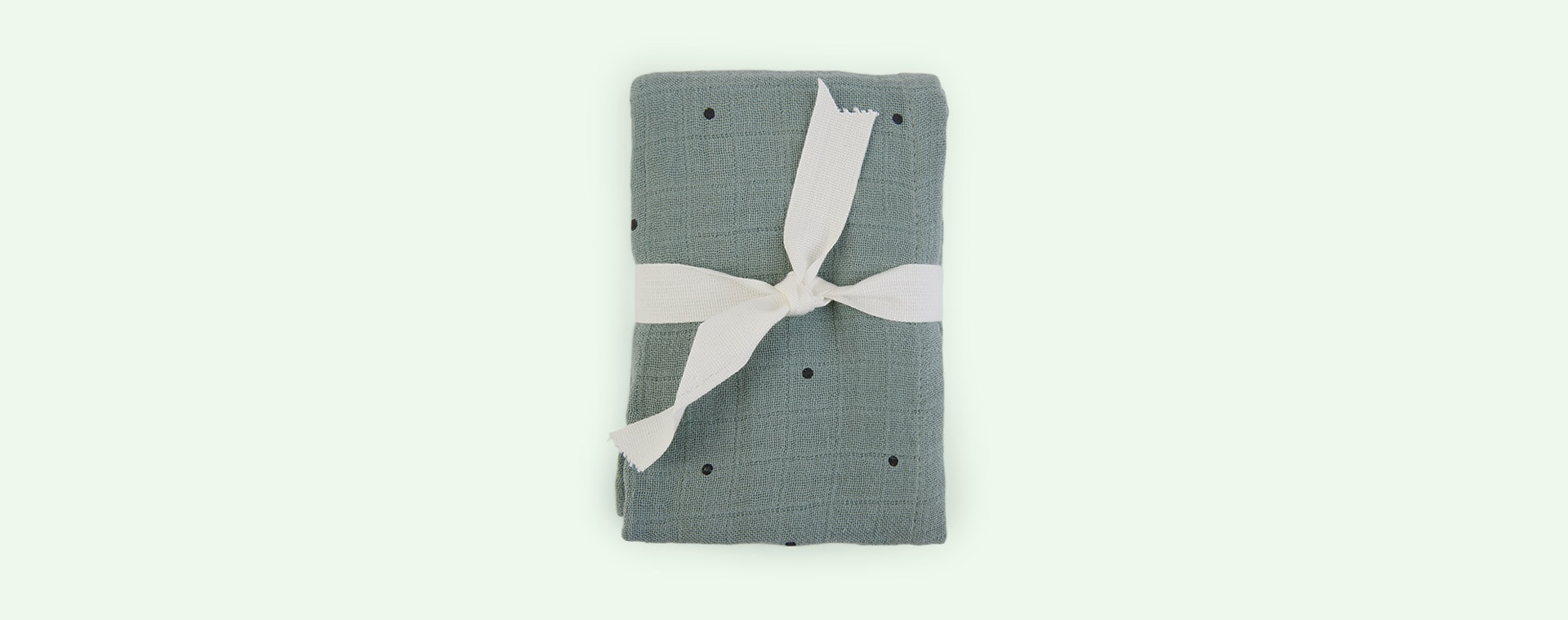 Classic Dot Peppermint Liewood Lewis Muslin Cloth 2-pack