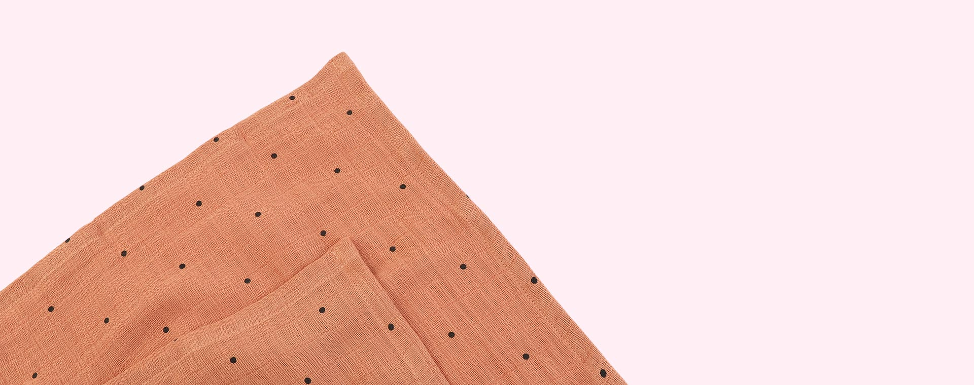 Classic Dot Tuscany Rose Liewood 2-Pack Lewis Muslin Cloth