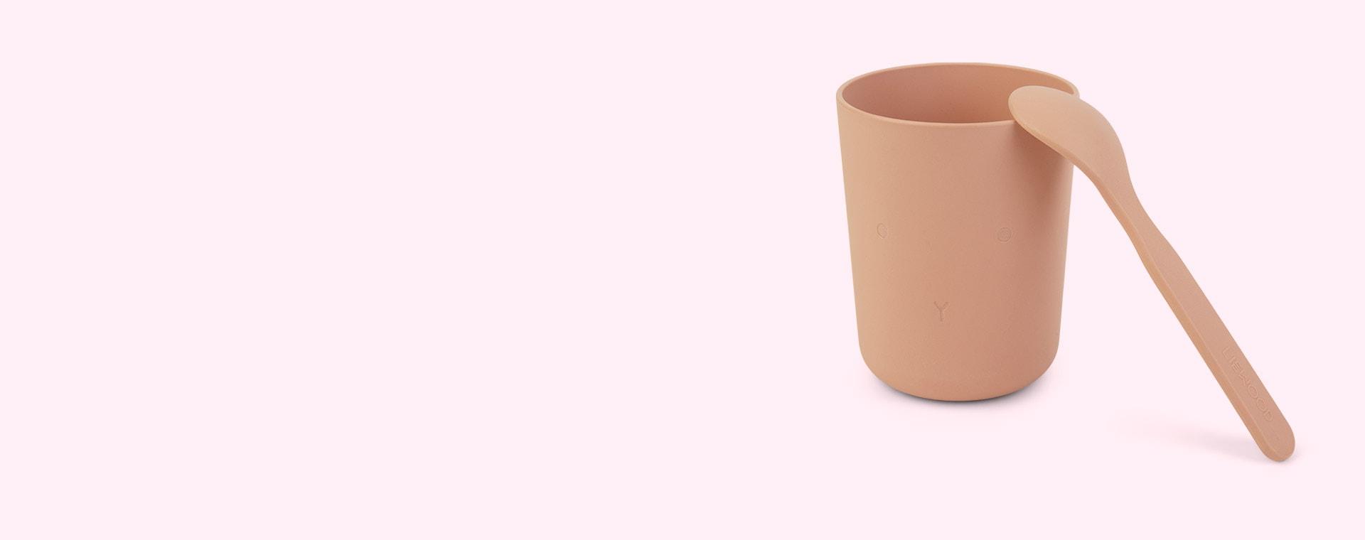 Cat rose blush Liewood Paul Tableware Set