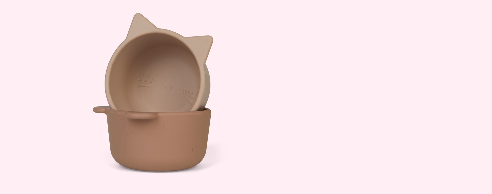 Rose multi mix Liewood 4-Pack Malene Silicone Snack Bowls