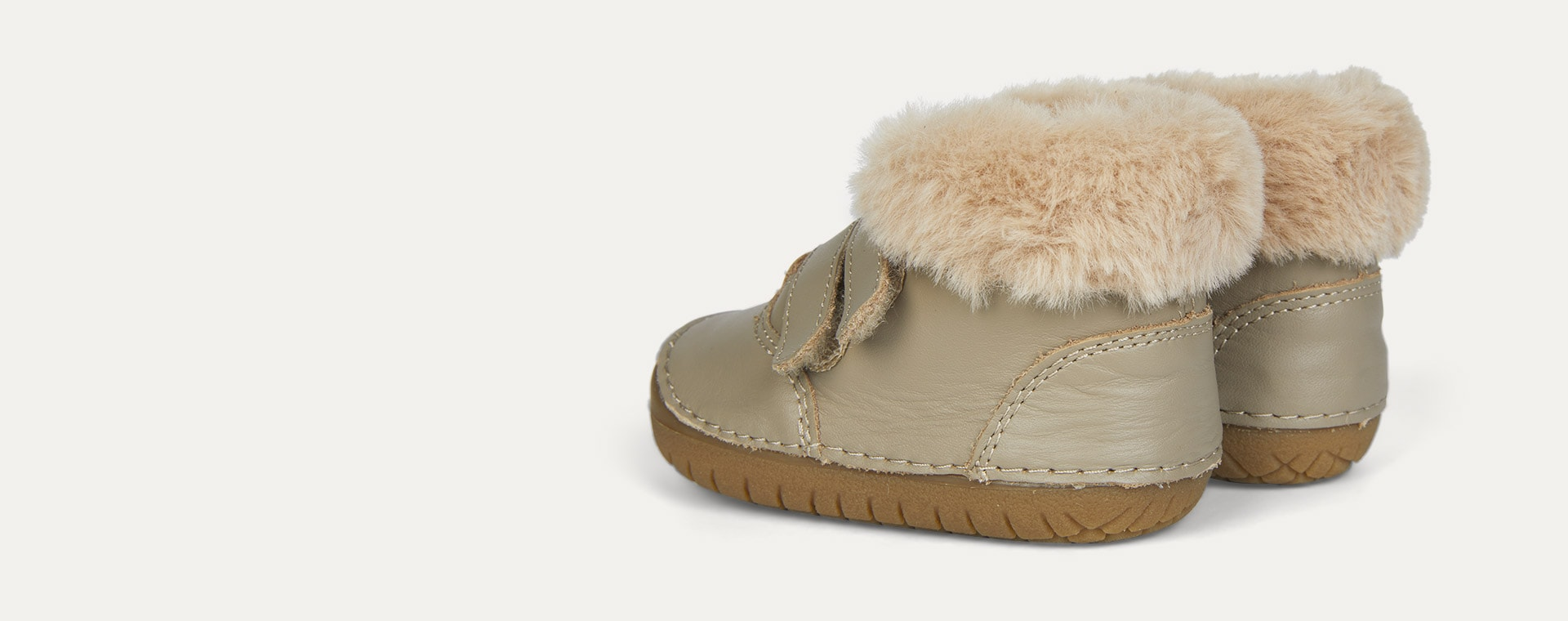 Taupe old soles Bear Pave Fur Lined Boot