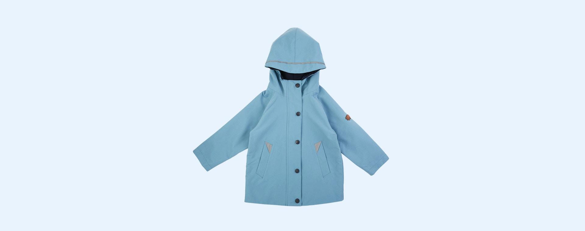 Rain Blue Töastie Kids Recycled Waterproof Raincoat