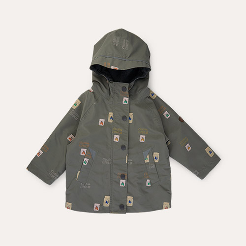 Catching Flies Töastie Kids Recycled Waterproof Raincoat