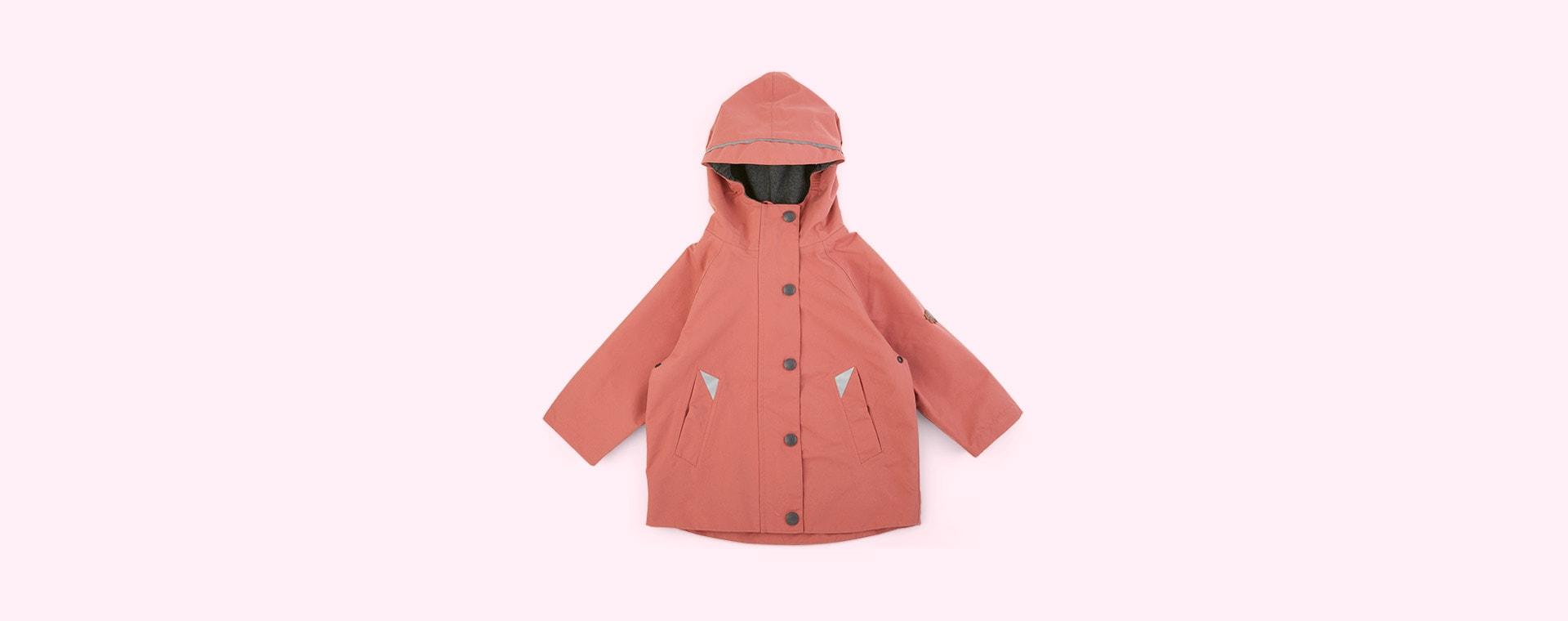 Rose Pink Töastie Kids Recycled Waterproof Raincoat