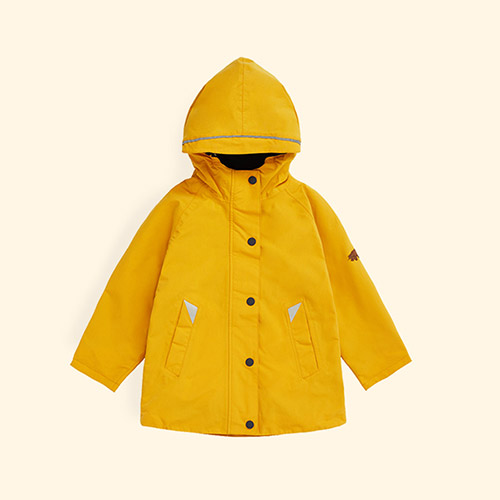 Fisherman Yellow Töastie Kids Recycled Waterproof Raincoat