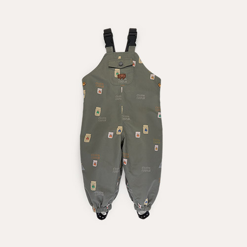 Catching Flies Töastie Kids Recycled Waterproof Dungarees