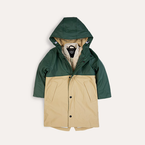 Forest/Sand GOSOAKY 3-in 1 Reservoir Dogs Waterproof Coat & Bomber Jacket