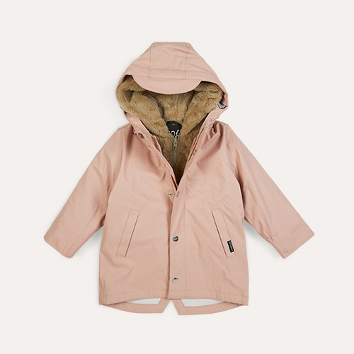 Evening Pink GOSOAKY 3-in-1 Snake Pit Waterproof Coat & Hooded Jacket