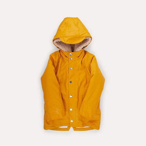Yellow / Teddy GOSOAKY 3-in-1 Snake Pit Waterproof Coat & Hooded Jacket