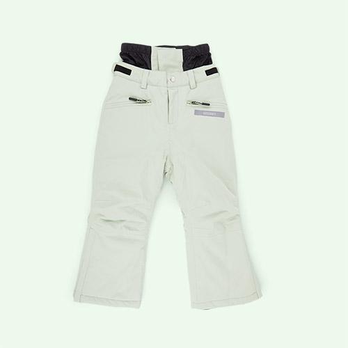 Laurel Green GOSOAKY Big Bad Wolf Unisex Ski Pants