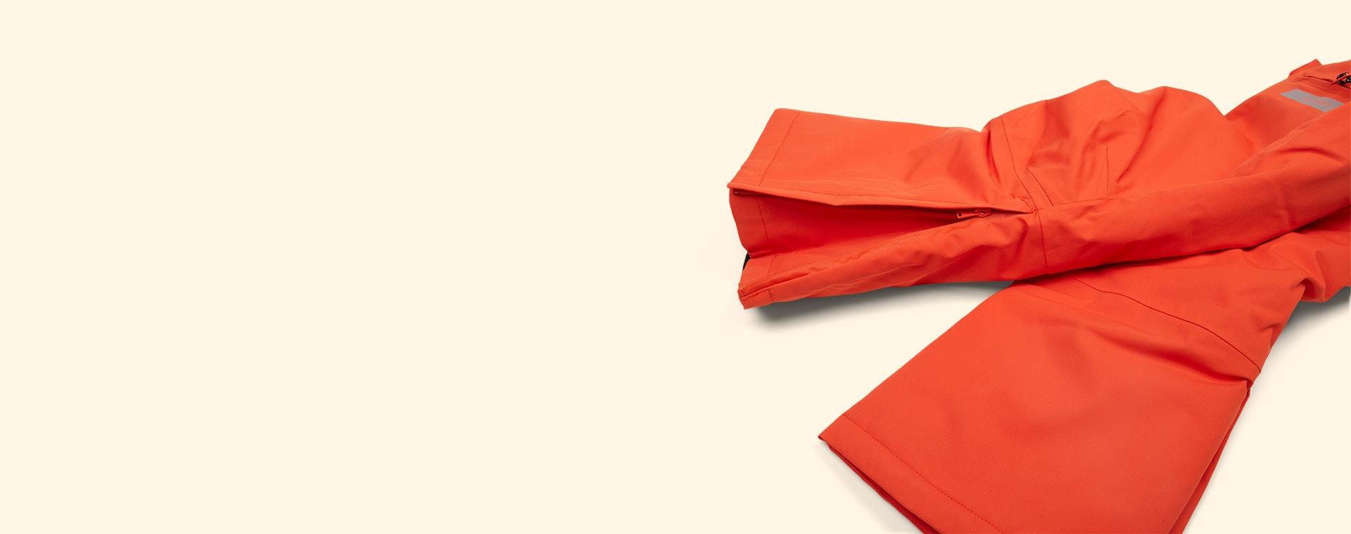 Spicy Red GOSOAKY Big Bad Wolf Unisex Ski Pants