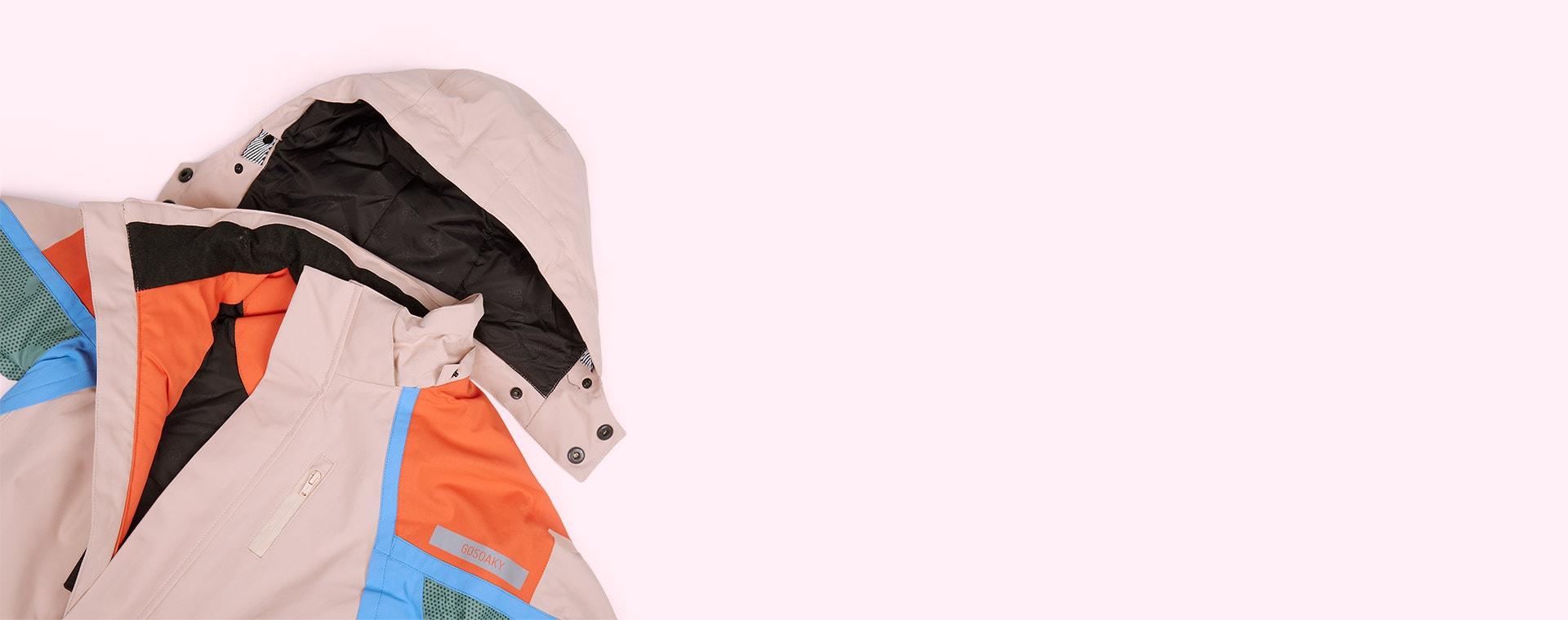 Evening Pink GOSOAKY Baloo Ski Jacket