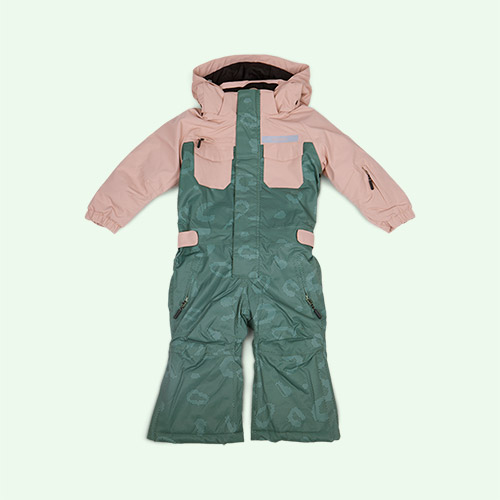 Evening Pink GOSOAKY Renart The Fox Ski Onesie