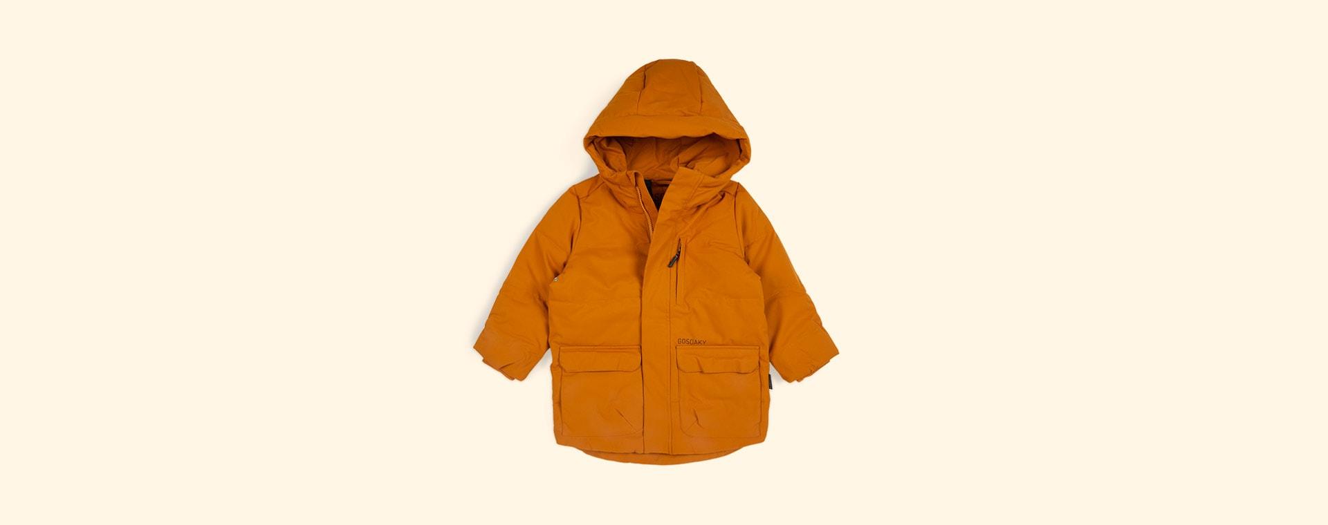 Inca Gold GOSOAKY Tiger Eye Unisex Puffer Jacket