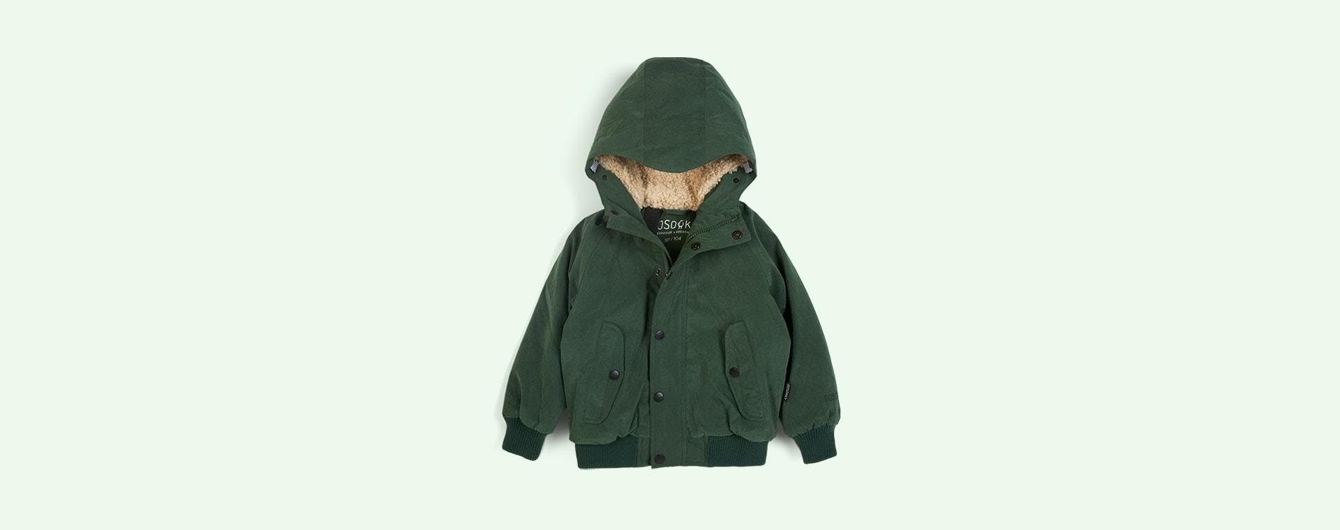 Green Forest GOSOAKY Horseman Unisex Waterproof Padded Jacket