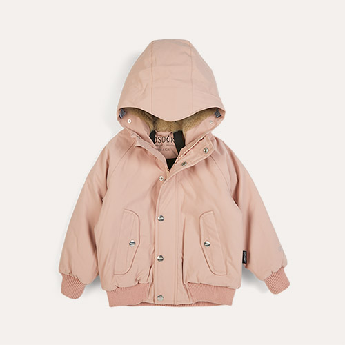 Evening Pink GOSOAKY Horseman Unisex Waterproof Padded Jacket