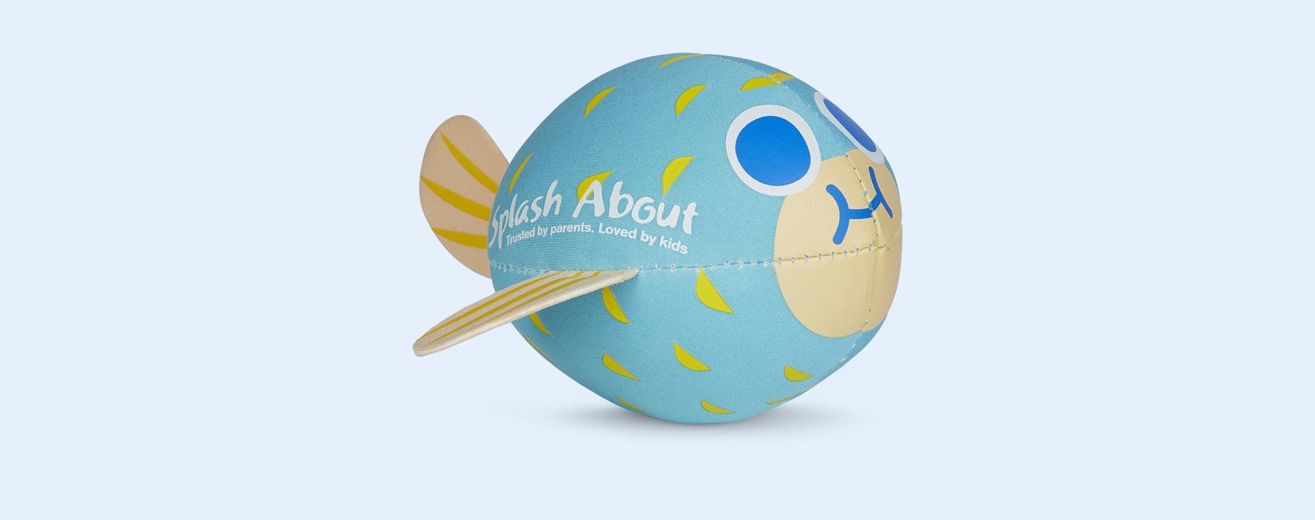 Blue Splash About Neoprene Pufferfish Splash Ball