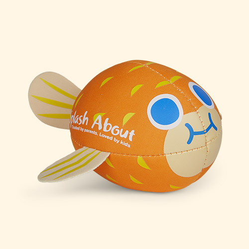 Orange Splash About Neoprene Pufferfish Splash Ball