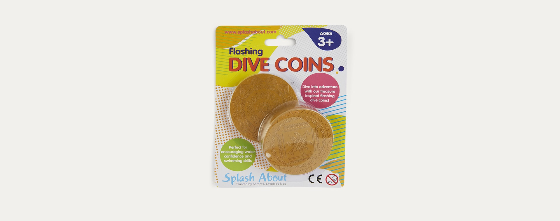Gold Splash About Flashing Light Up Dive Coins