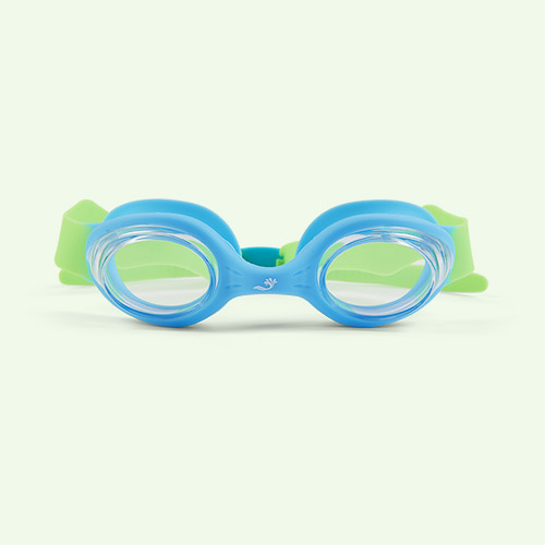 Blue Splash About Guppy Goggles