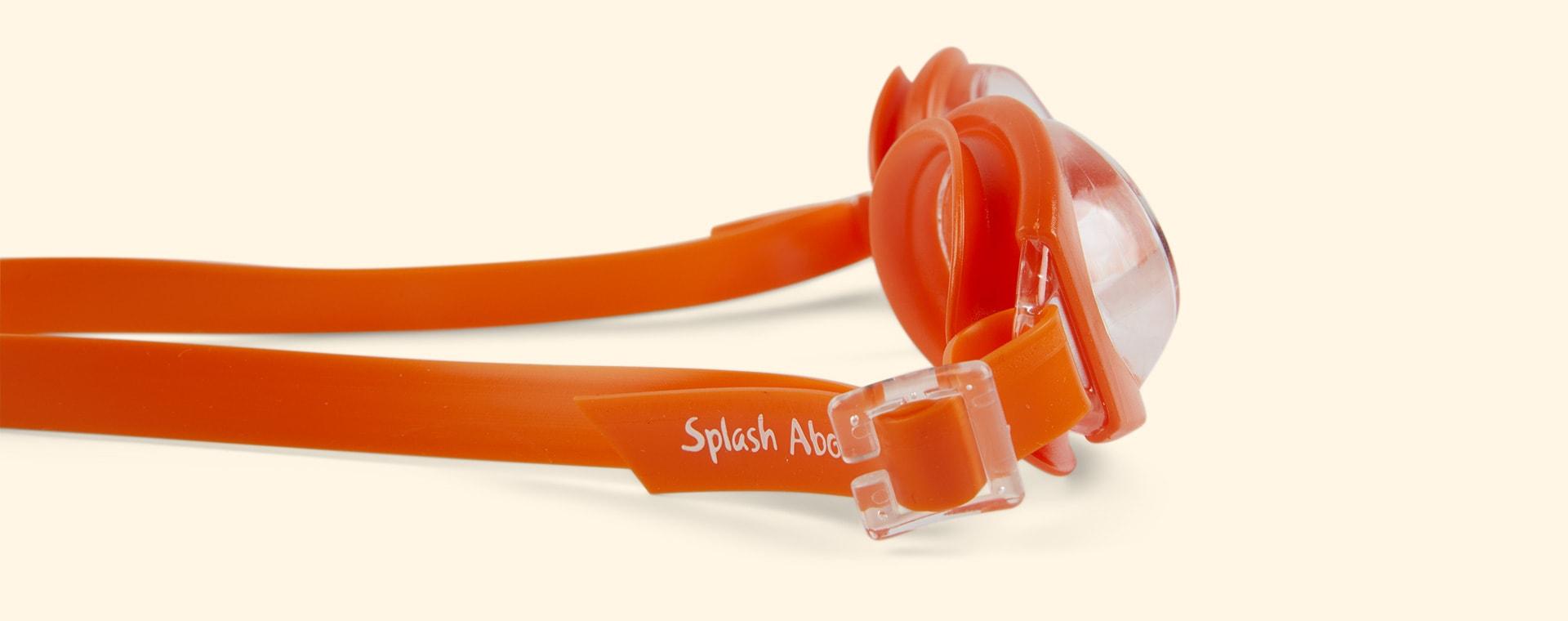 Orange Splash About Infant Minnow Goggles