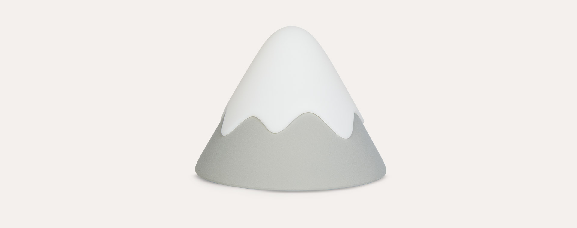 Grey Avery Row Snow Mountain Silicone Night Light