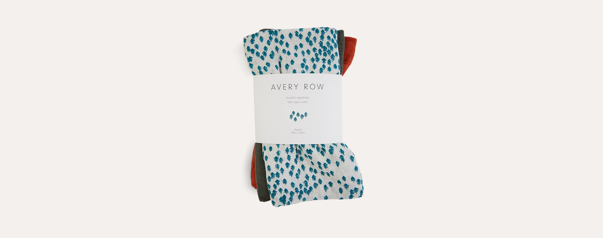 Nordic Forest Avery Row 3-Pack Muslin Squares