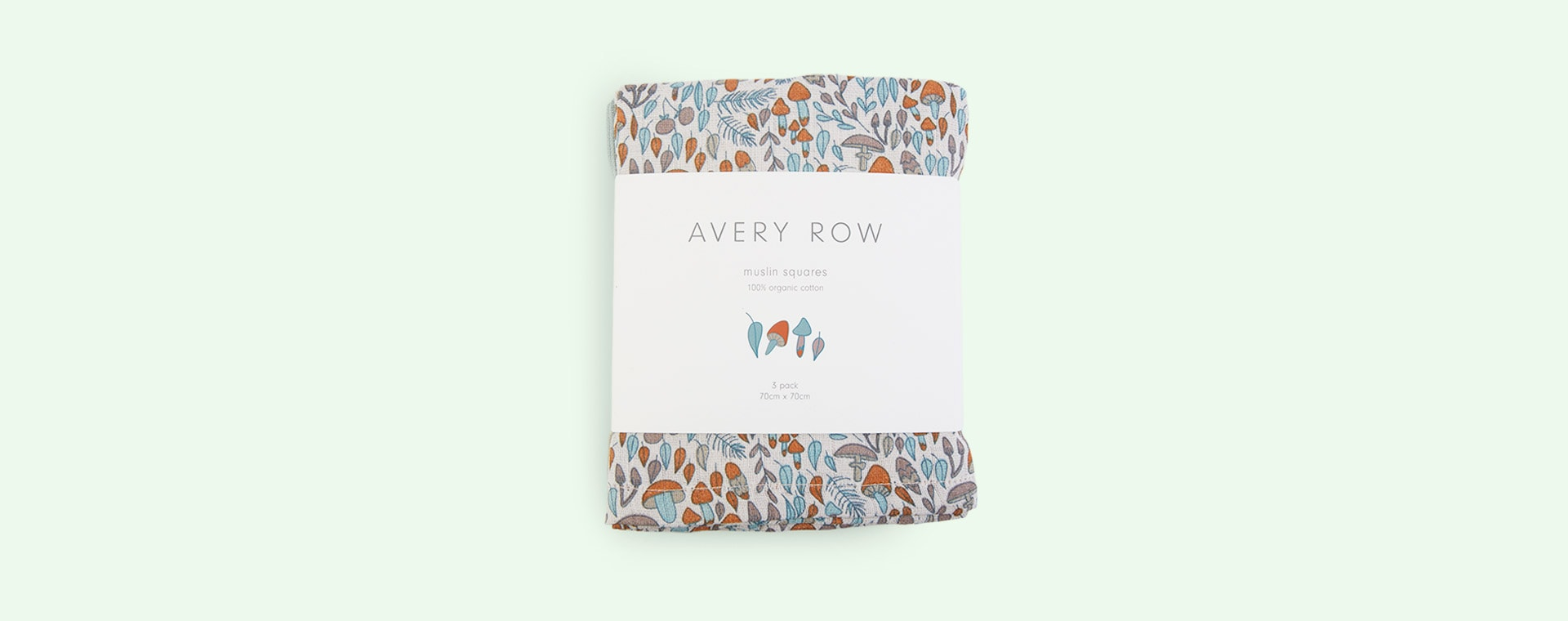 Woodland Walk Avery Row 3-Pack Muslin Squares