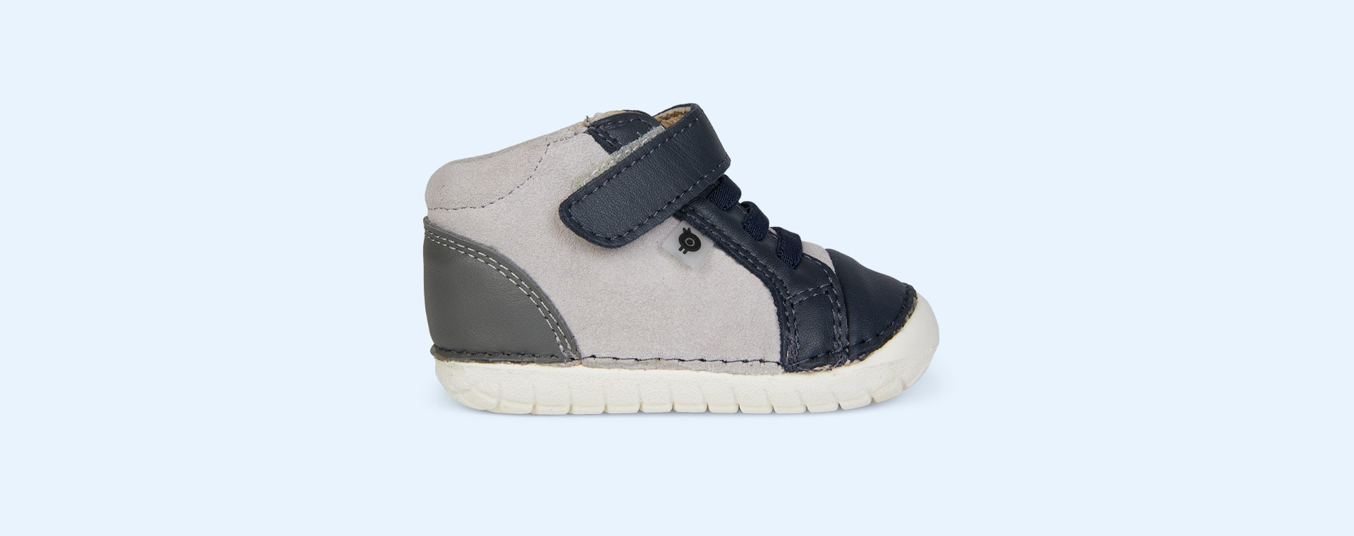 Navy/Grey/Grey Suede old soles High Pave First Trainer
