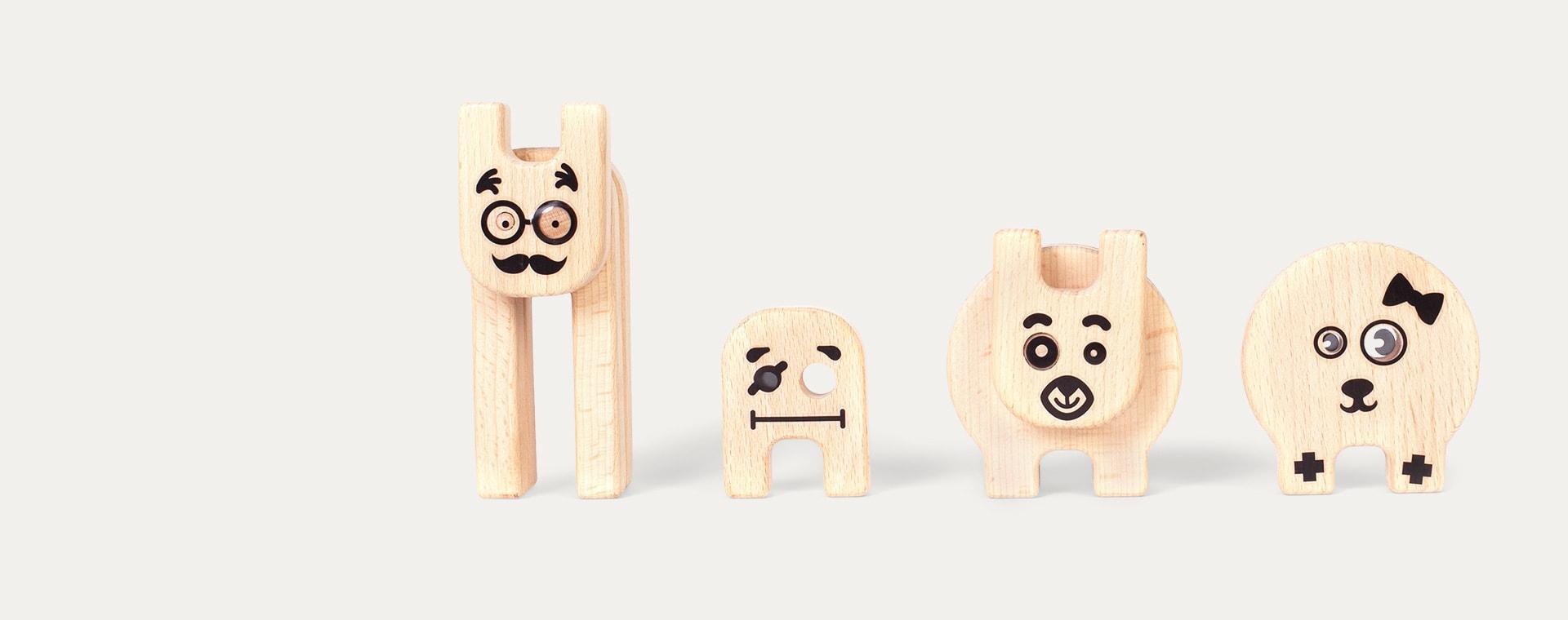 Multi Kipod Funny Creatures