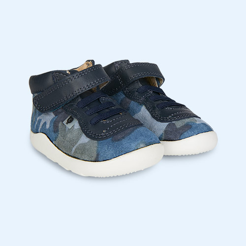 Marine Camo/Navy old soles Causeway Ground Trainer
