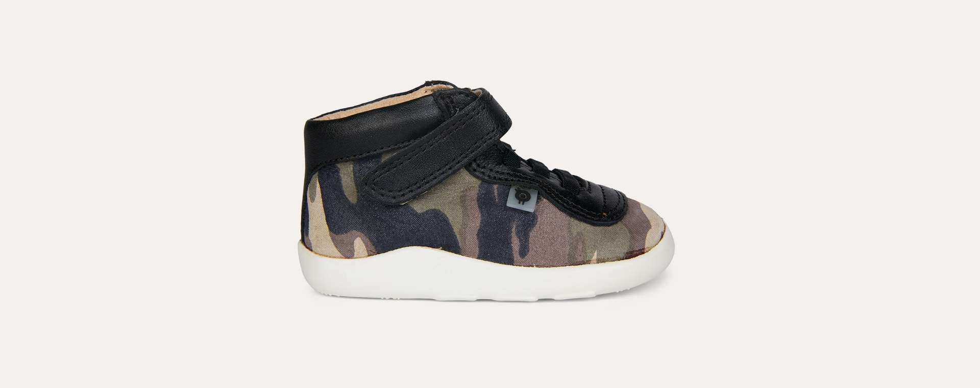 Army Camo/Black old soles Causeway Ground Trainer