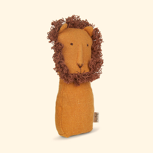 Lion Maileg Animal Rattle