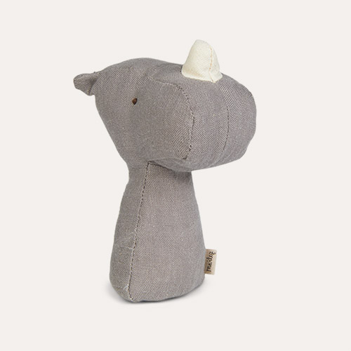 Rhino Maileg Animal Rattle