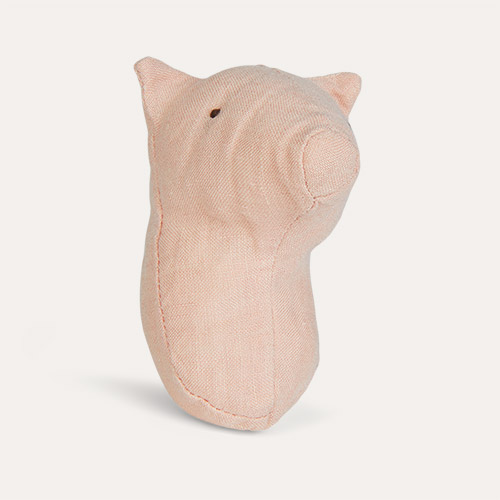 Pig Maileg Animal Rattle