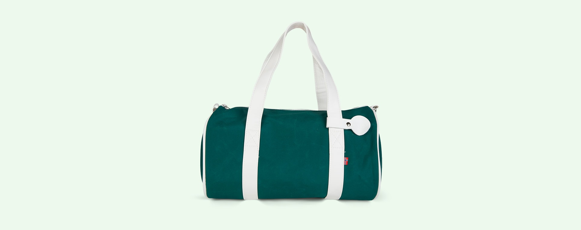 Dark Green Blafre Holdall Bag
