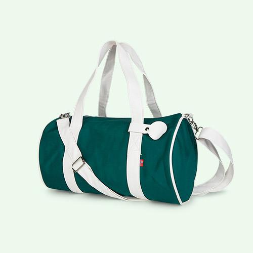 Dark Green Blafre Holdall Bag