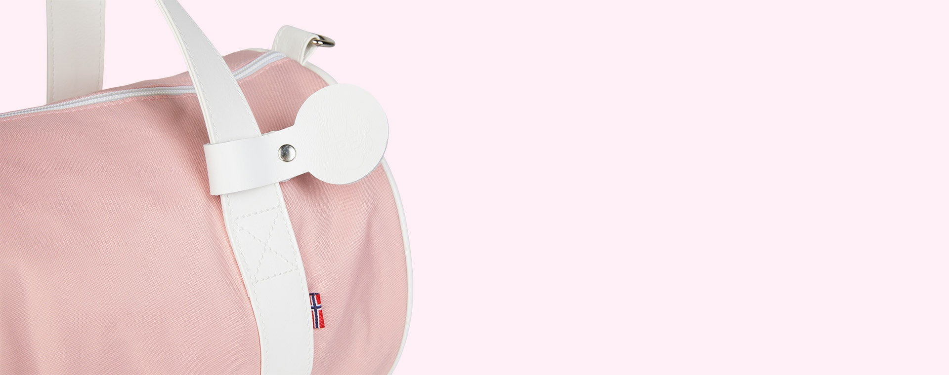 Pink Blafre Holdall Bag