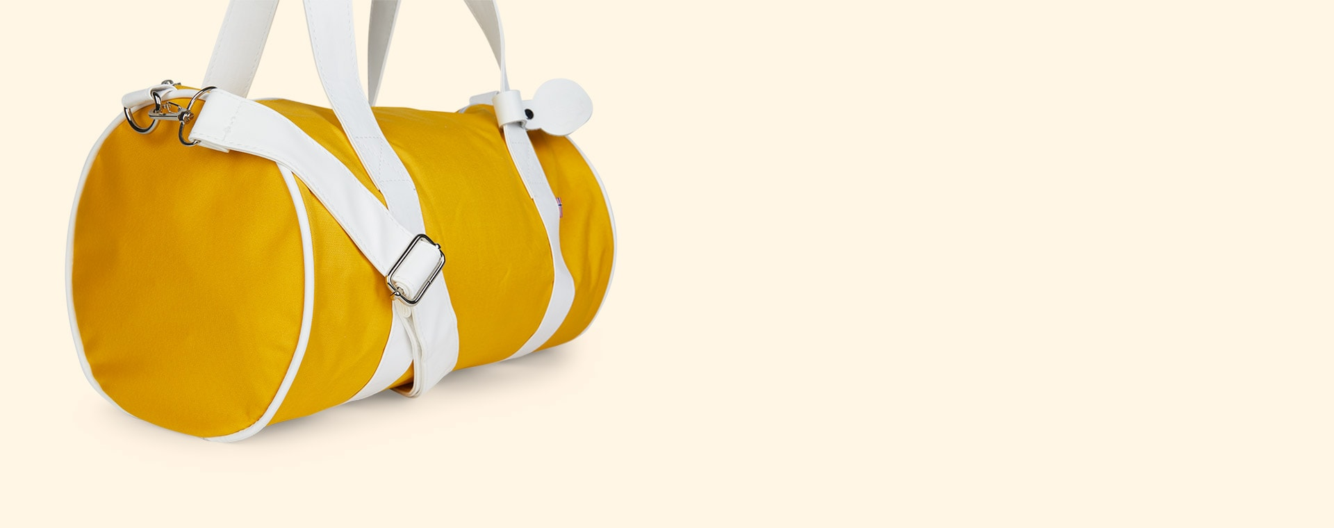 Yellow Blafre Holdall Bag