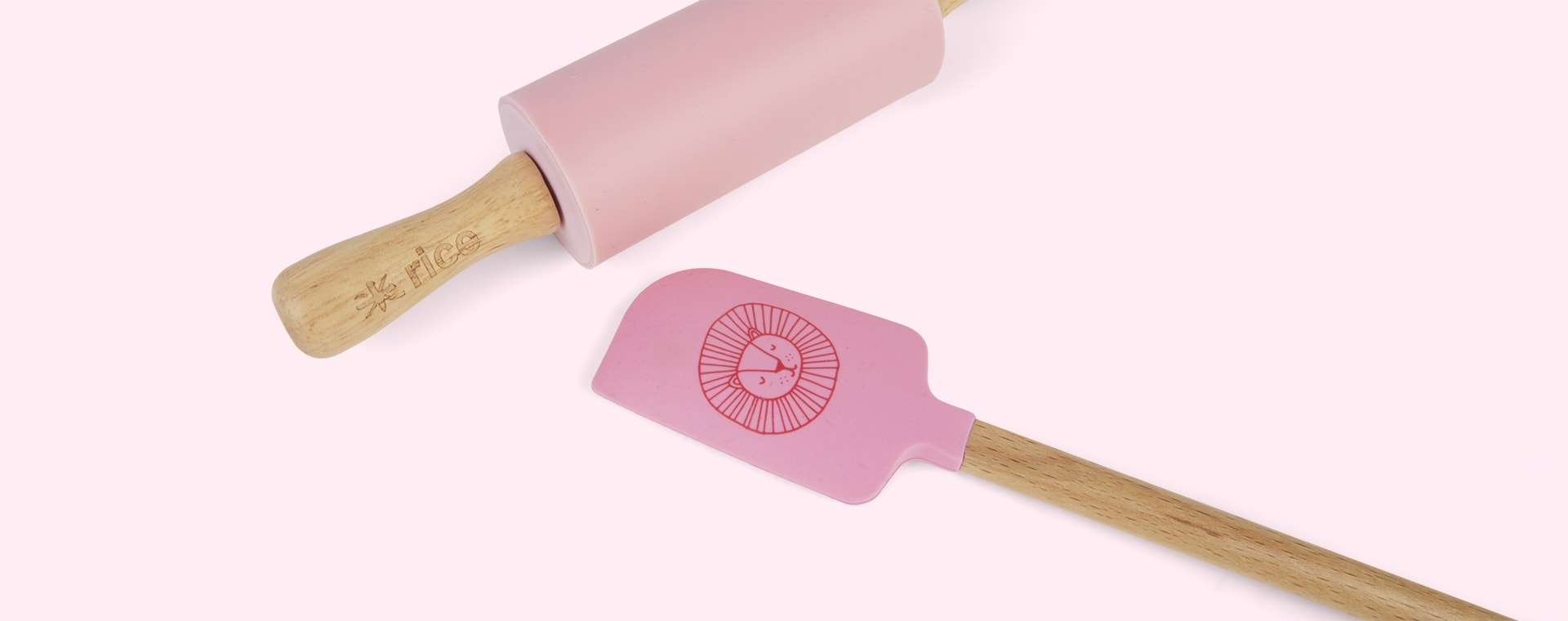Pink Rice Kids Baking Set