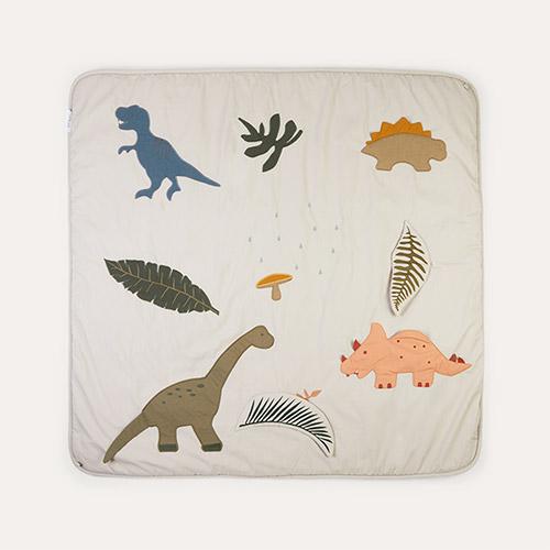 Dino Dark Sandy Mix Liewood Glenn Activity Blanket