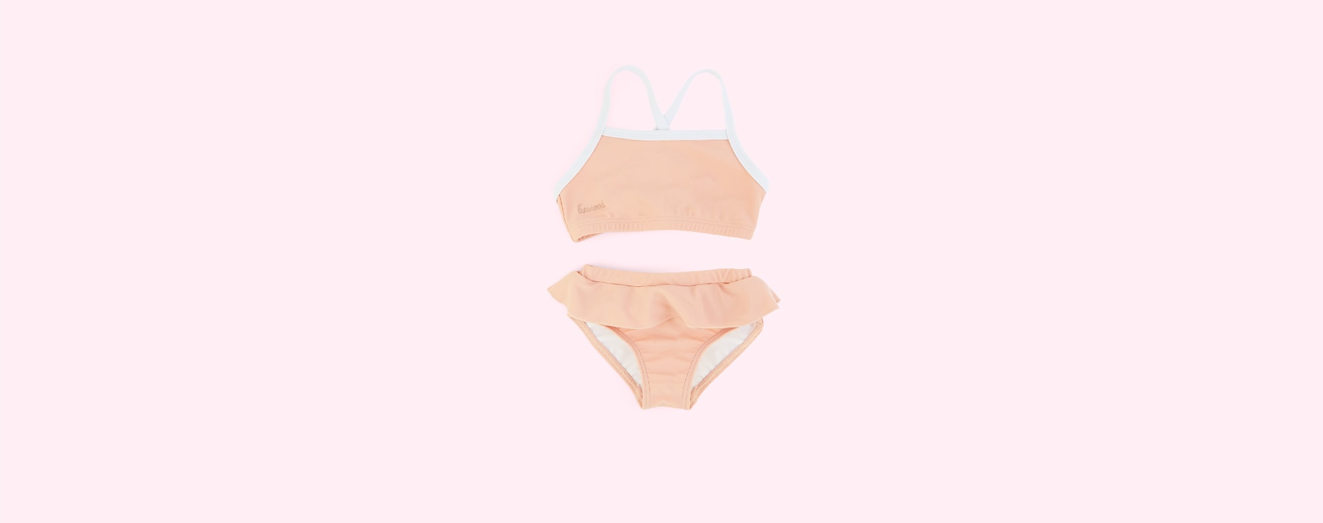 Coral blush Liewood Marilyn Bikini Set