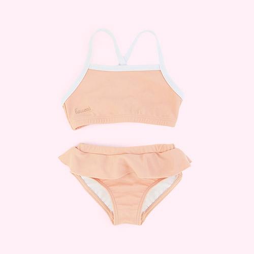 Coral blush Liewood Marilyn Bikini Set